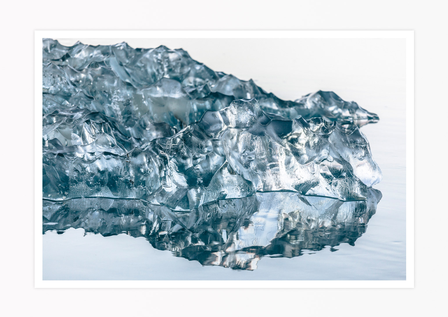 ICELAND-JOKULSARLON-ICE