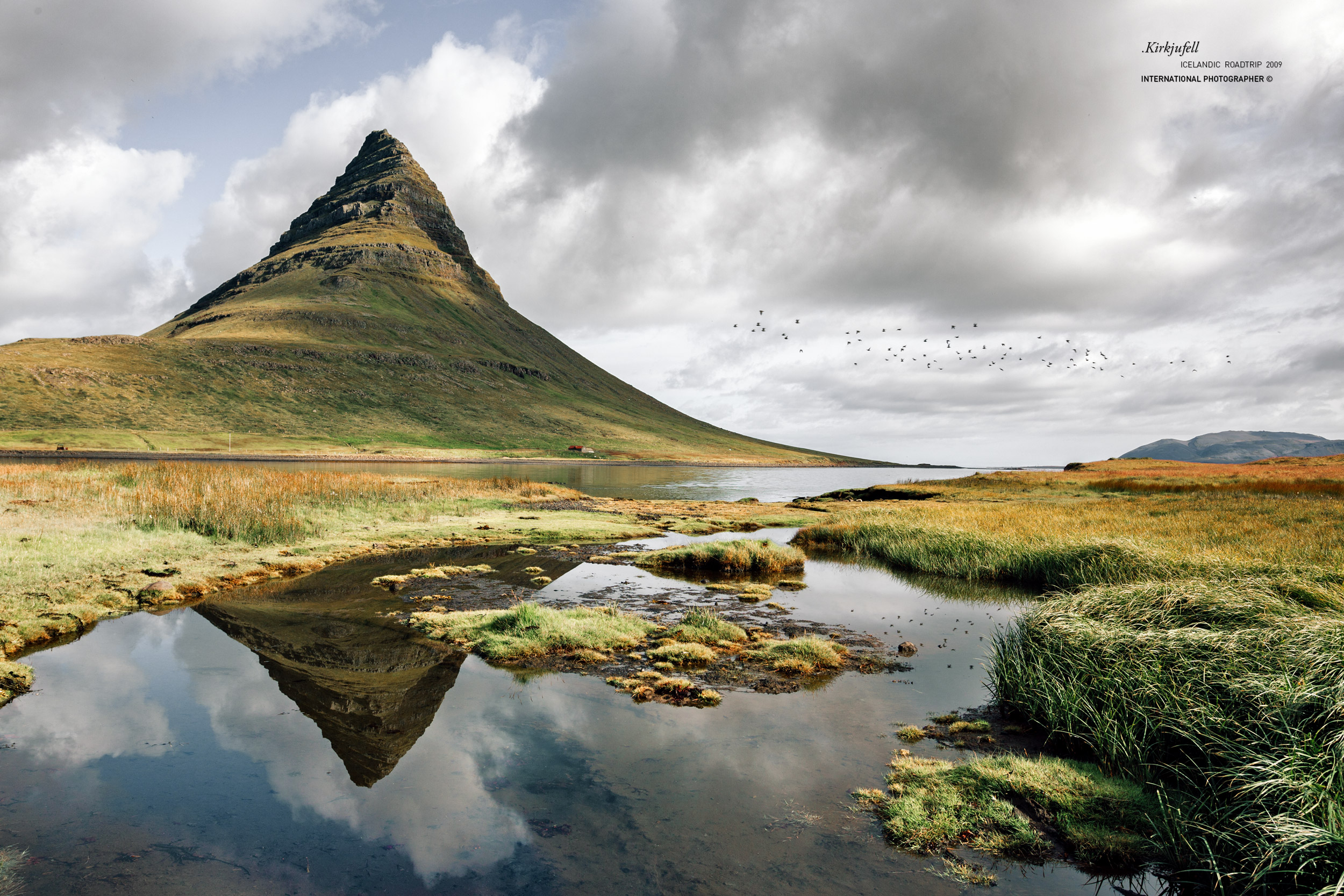 "La ""montagne église"" Kirkjufell"