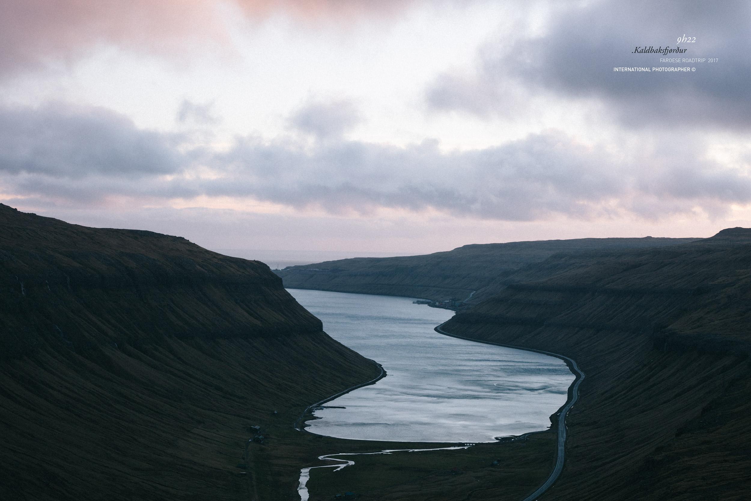 Kaldbaksfjørður au lever du jour