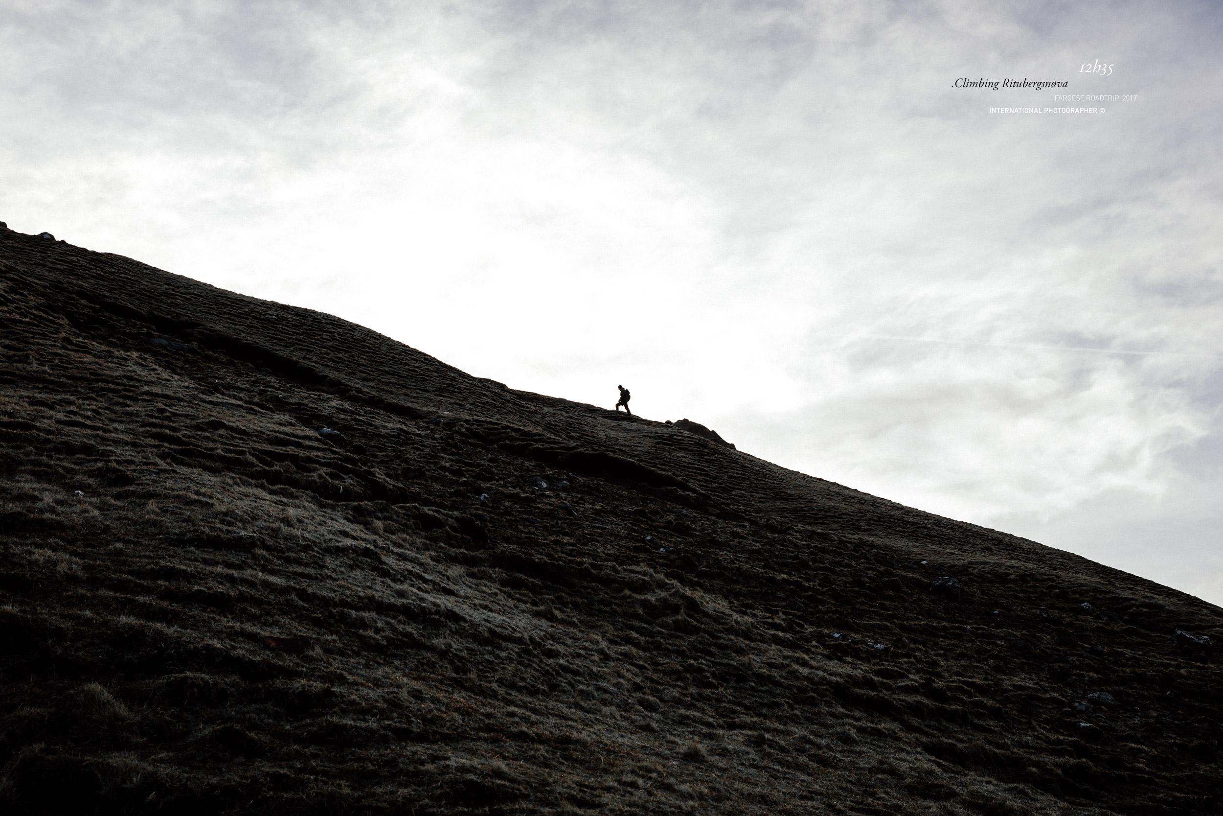 Balade sur les falaises de Ritubergsnøva